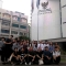 28명의 한국 젊은이들 인도네시아로 공부하러 갈 준비를 하다