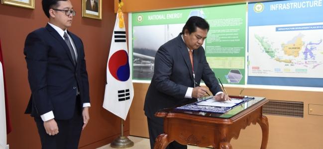 Duta Besar Umar Hadi Memulai Tugasnya di KBRI di Seoul